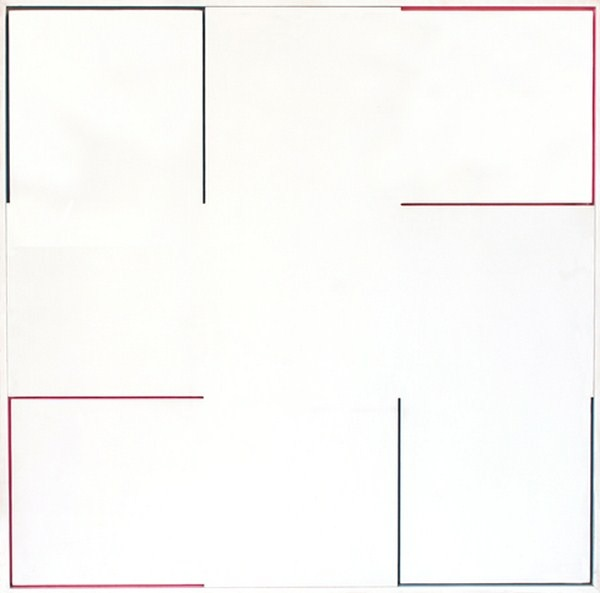 Atmosphere Chromoplastique, nº 487, relieve, 77 x 77 x 4 cm, 1980