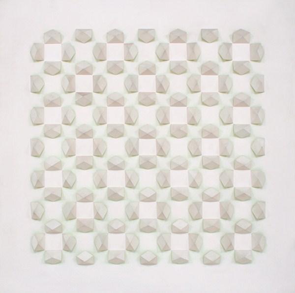 Atmosphere Chromoplastique nº 533, relieve, 180 x 180 x 14 cm, 1973