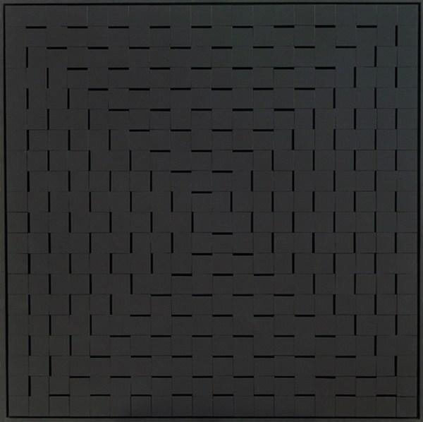 Atmosphere Chromoplastique nº 580, relieve, 102 x 102 x 6 cm, 1985