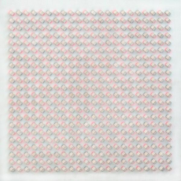 Atmosphere Chromoplastique nº 695, relieve, 85 x 85 x 6 cm, 1990