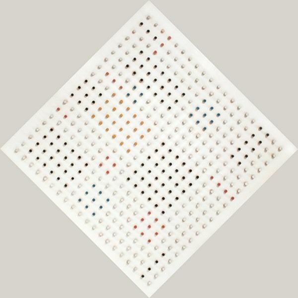 Objet plastique nº 129, relieve, 64 x 64 x 9 cm, 1964