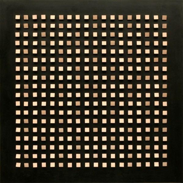 Objet plastique nº 147, relieve, 100 x 100 x 9 cm, 1965