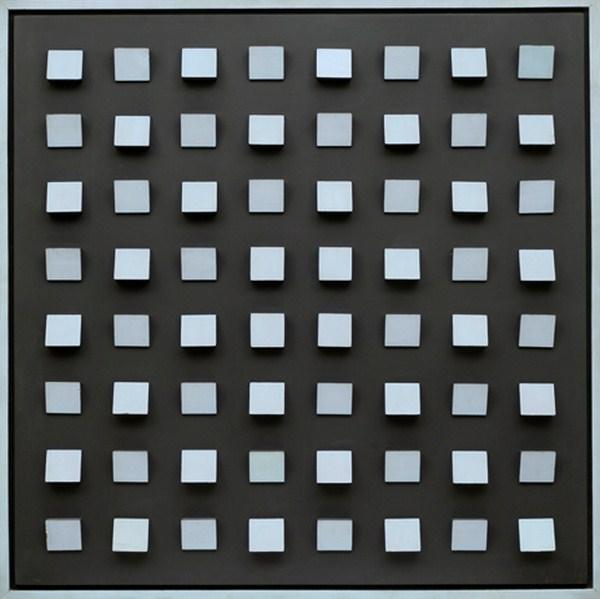 Objet plastique nº 153, relieve, 100 x 100 x 9 cm, 1966