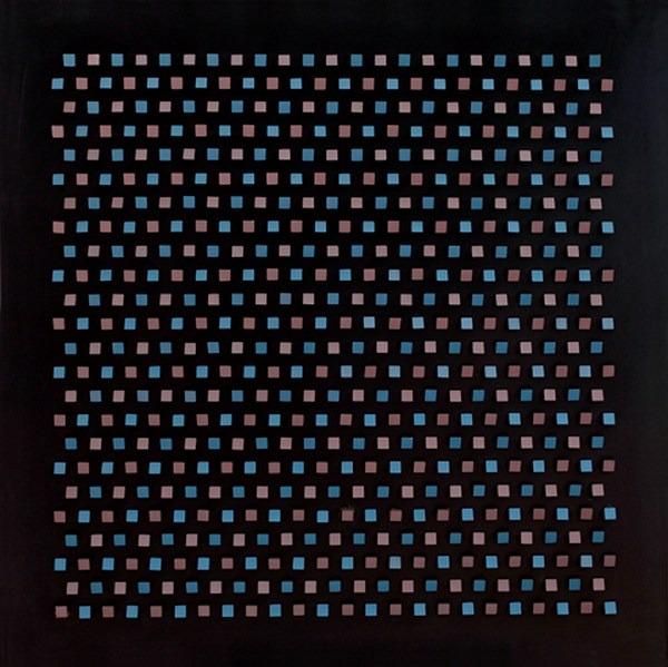 Objet plastique nº 615, relieve 100 x 100 x 8 cm, 1987