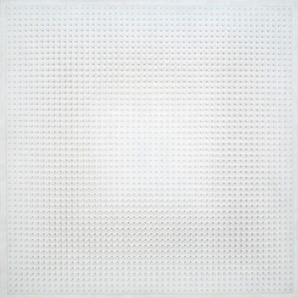 Objet plastique nº 725, relieve, 135 x 135 x 11 cm, 1993