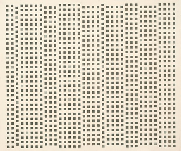Peinture cinetique nº 2, esmalte s/ madera, 64 x 76 x 3 cm, 1957